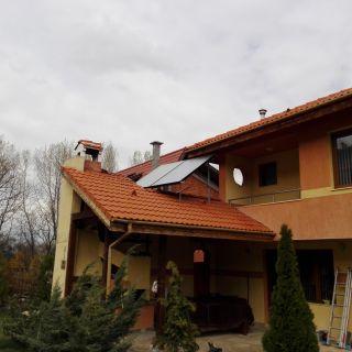 Соларна ситема 200 л с панели BOSCH 5000